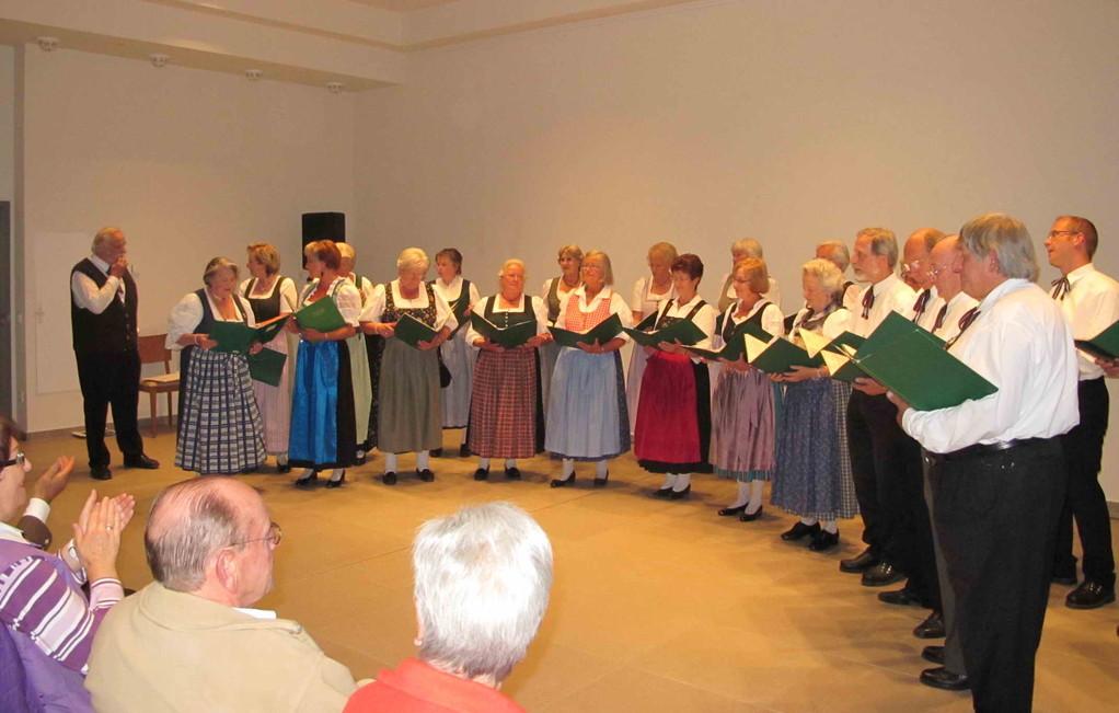 Singvereinigung Miesbach, Ltg. Rudolf Sommer