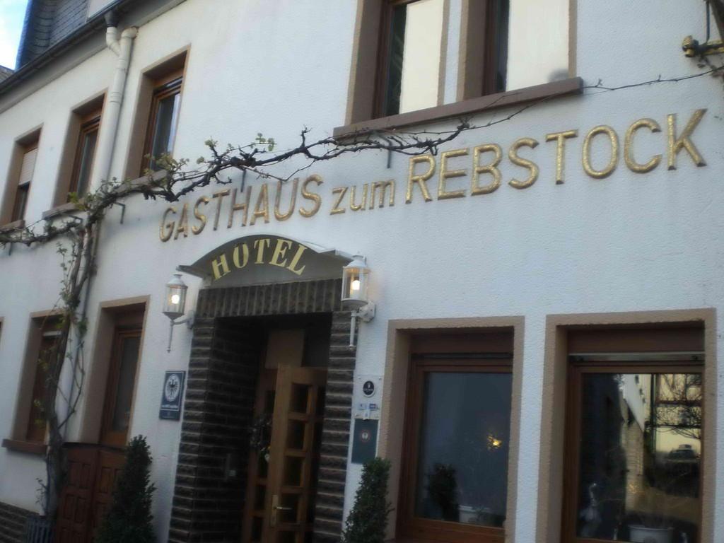 "Unser Hotel ""Rebstock"" in Bruttig-Fankel"