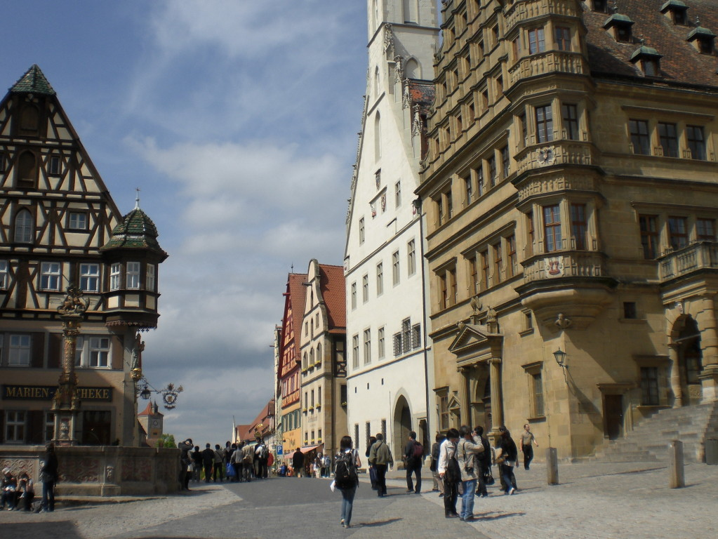 Stadtplatz Rothenburg