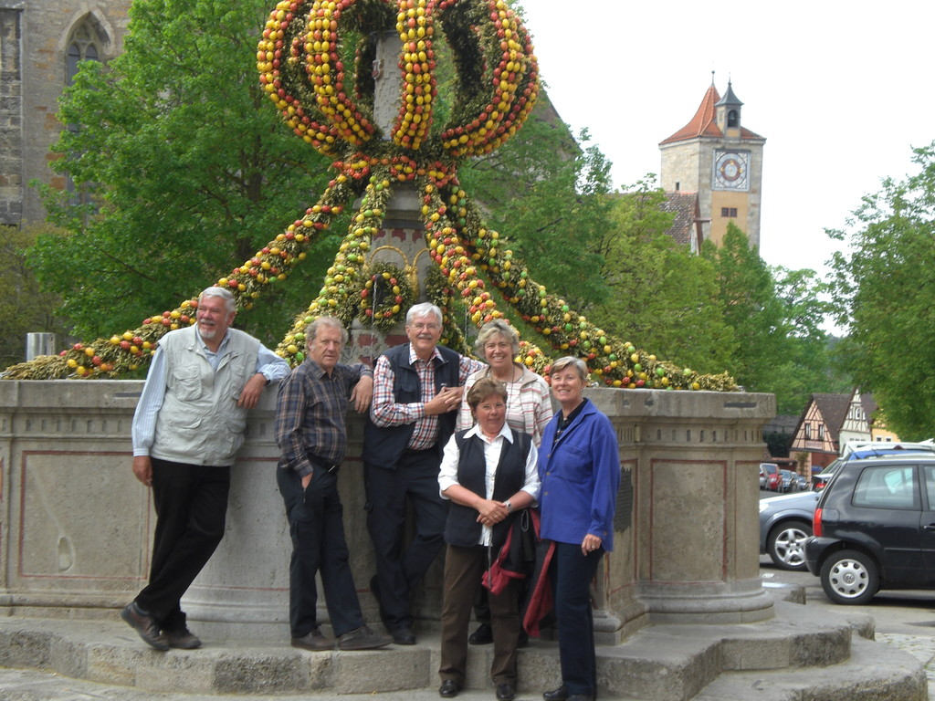 Osterbrunnen in Rothenburg
