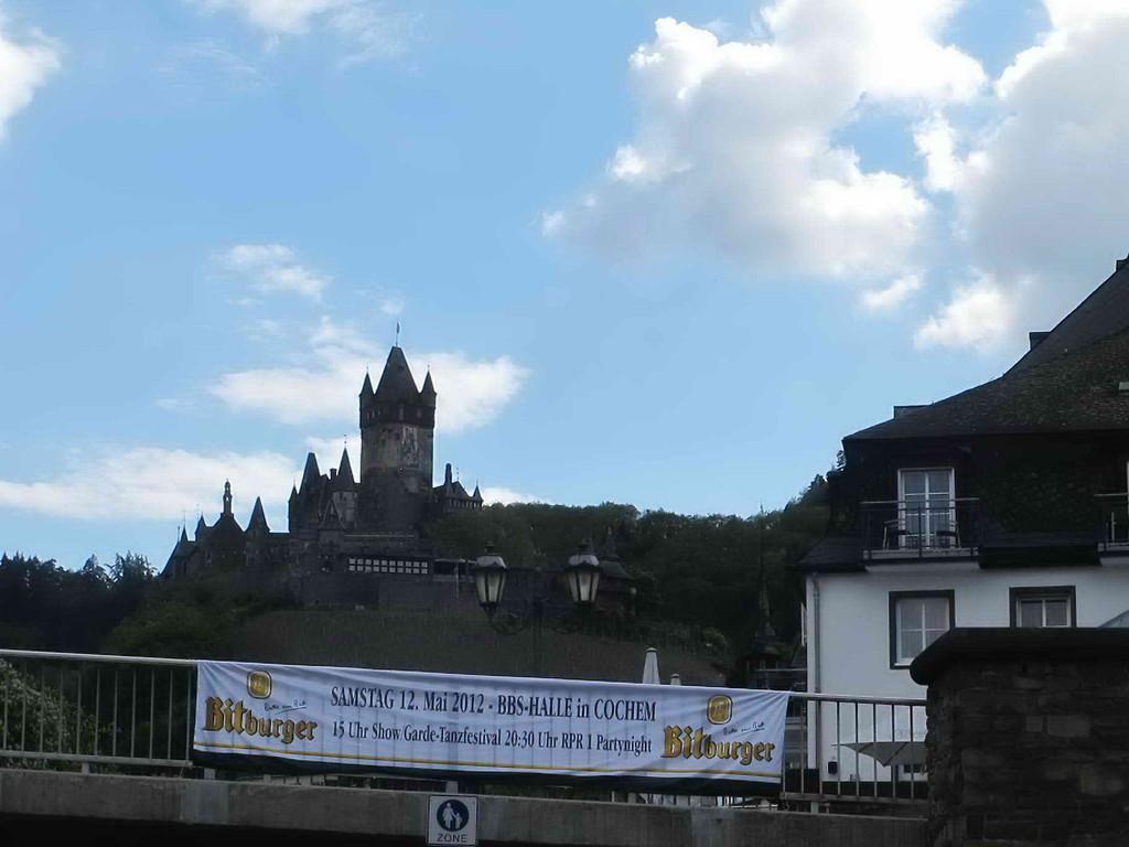 Die Burg oberhalb Cochem