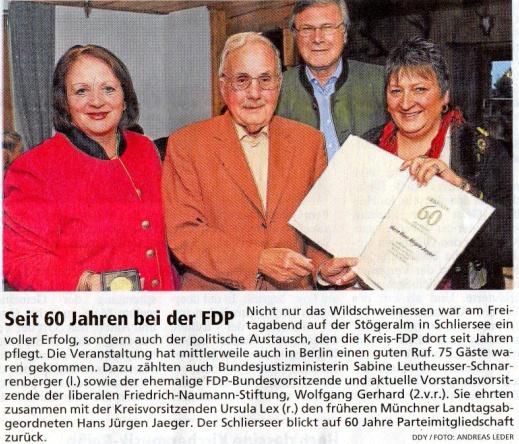 23. Juli 2012: Seit 60 Jahren bei der FDP (.jpg)