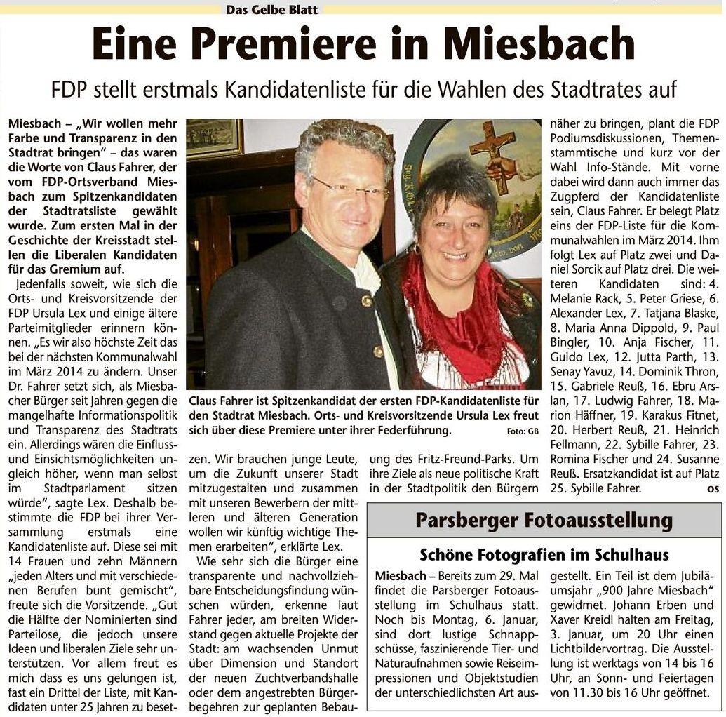 31. Dezember 2013: Eine Premiere in Miesbach (.jpg)