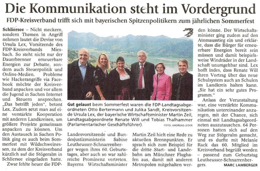 02. August 2011: Die Kommunikation steht im Vordergrund (.jpg)