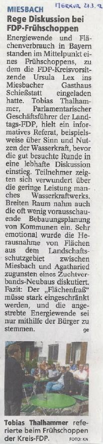 27. März 2012: Rege Diskussion bei FDP-Frühschoppen (.jpg)