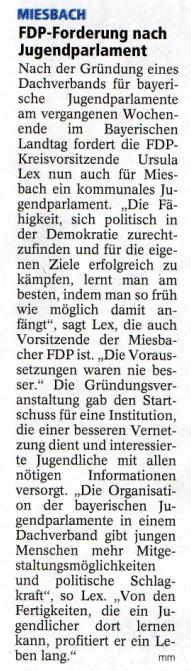 02. Februar 2012: FDP-Forderung nach Jugendparlament (.jpg)