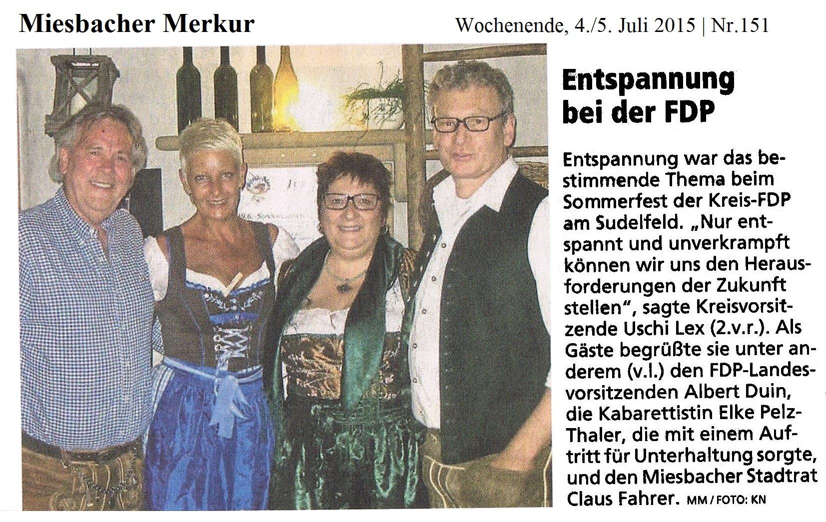 04. Juli 2015: Entspannung bei der FDP (.jpg)