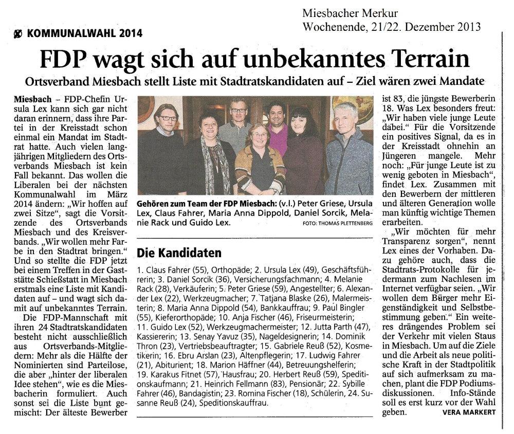 21. Dezember 2013: FDP wagt sich auf unbekanntes Terrain (.jpg)