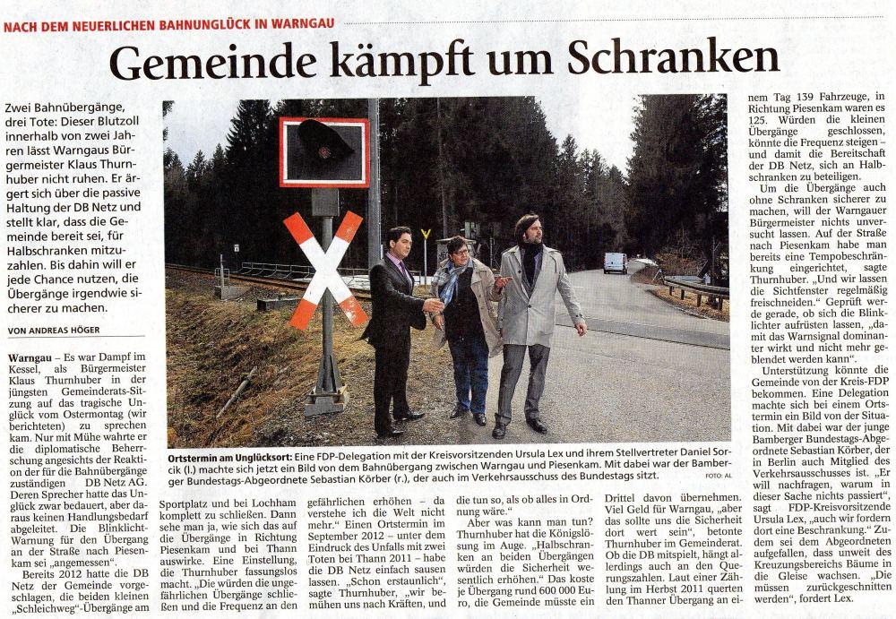 12. April 2013: Gemeinde kämpft um Schranken (.jpg)