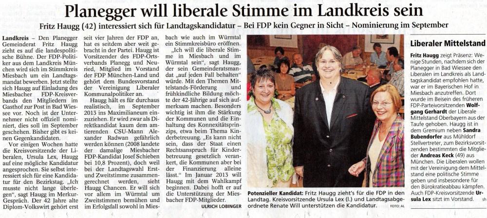 10. Juli 2012: Planegger will liberale Stimme im Landkreis sein (.jpg)