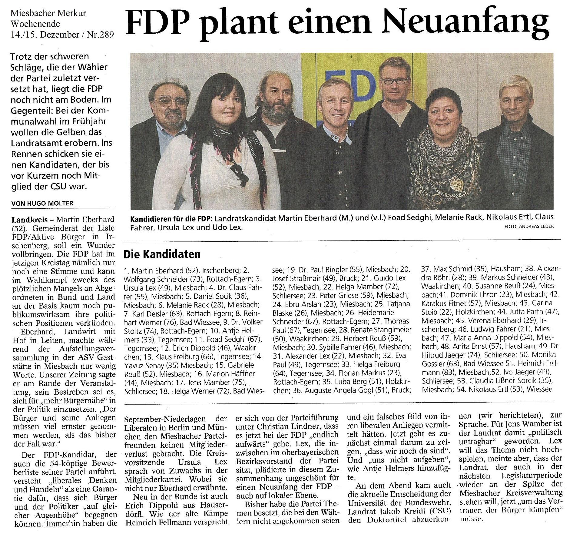 14. Dezember 2013: FDP plant einen Neuanfang (.jpg)