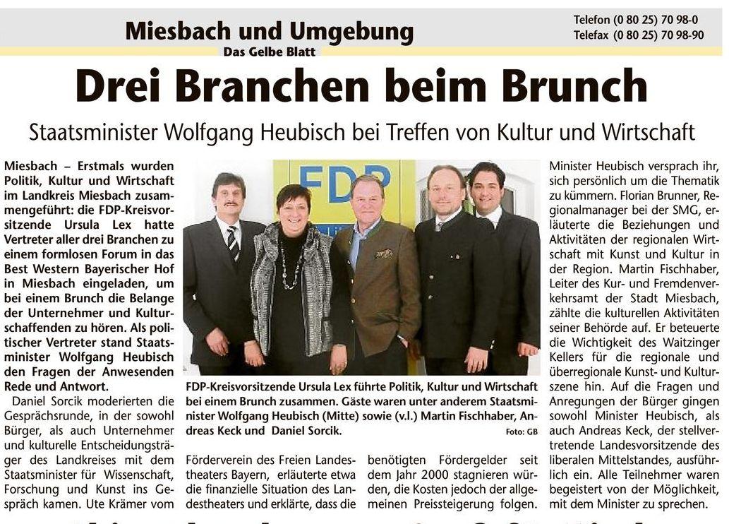 27. Februar 2013: Drei Branchen beim Brunch (.jpg)