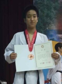 西村純選手 韓国全国大会銅メダル獲得(^v^)
