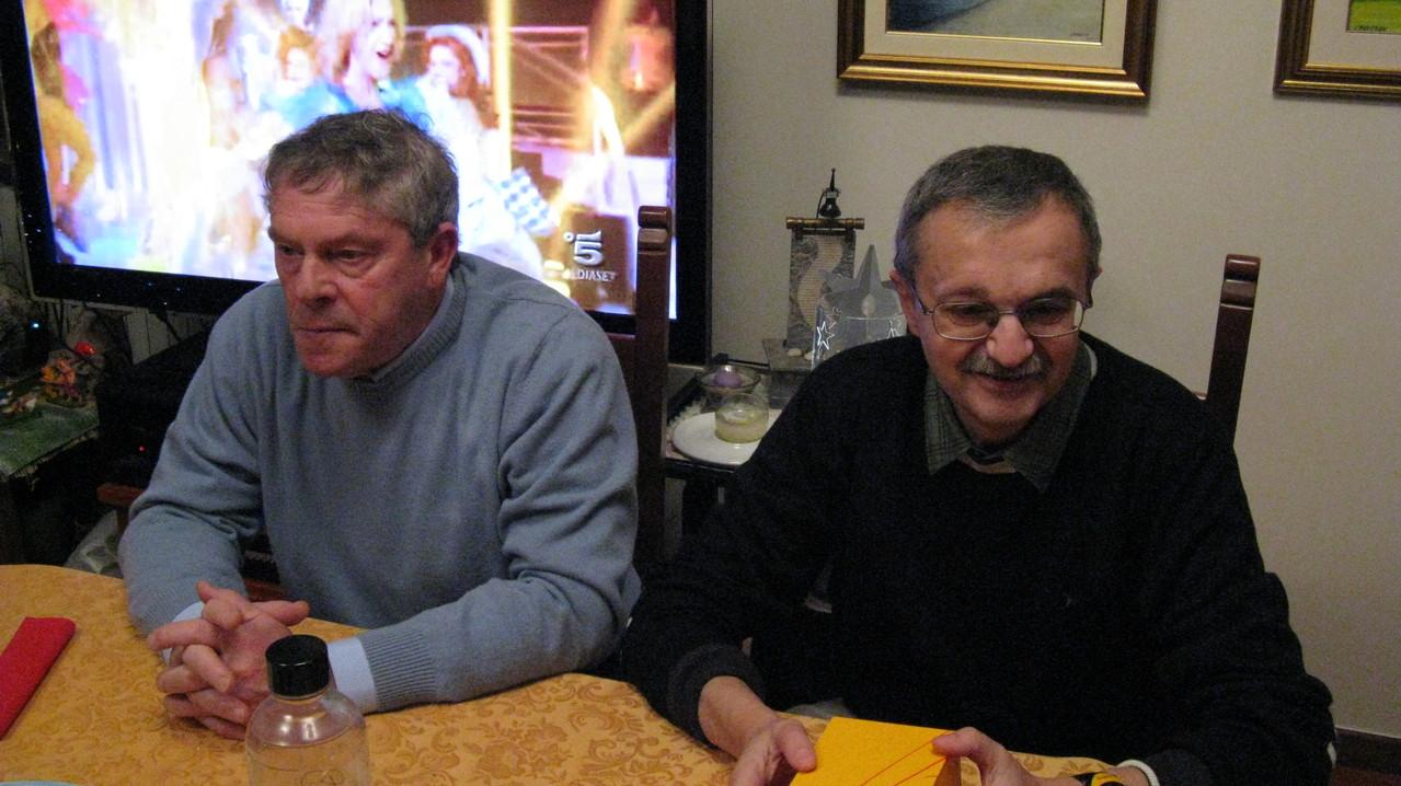 Giorgio e Gianni baffo