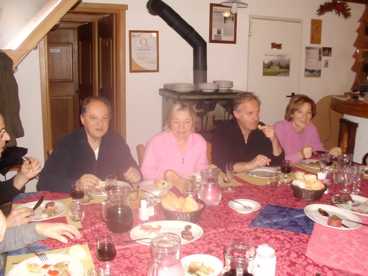 Angelo, Giovanna, Sandro e Elvadia