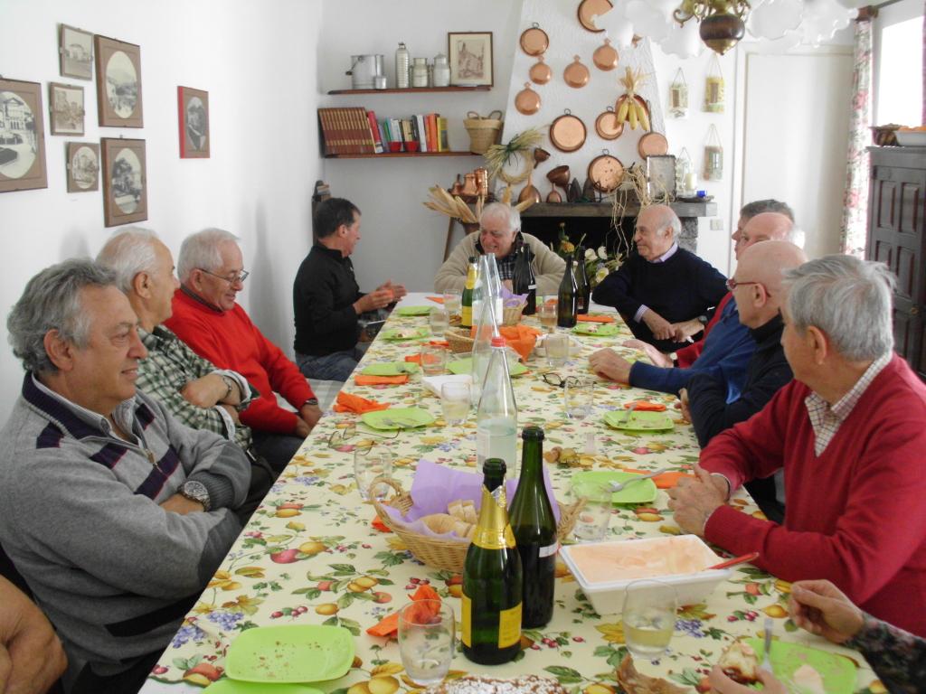Da sinistra: Gabrio, Franco, Pucci, Bruno, Gianni Pizzorni, Tino, Ferruccio e Roberto