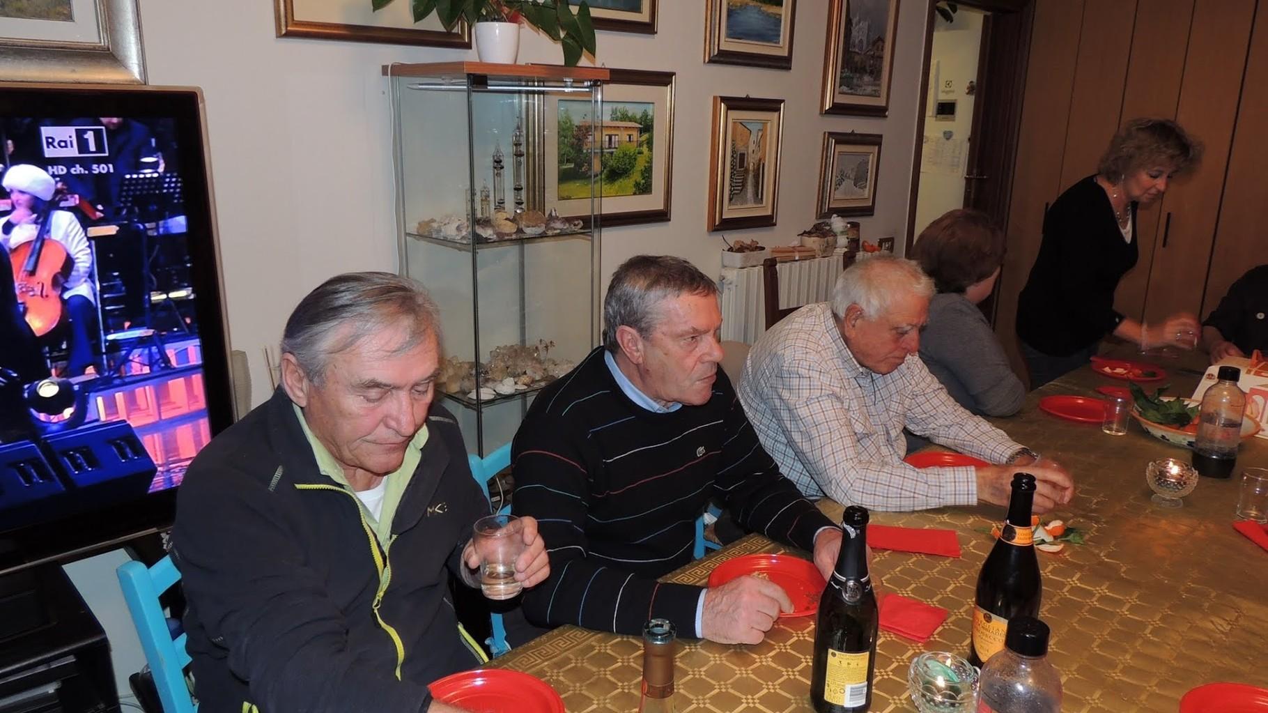 Piero, Giorgio, Gianni Pizzorni, Norma e Flavia