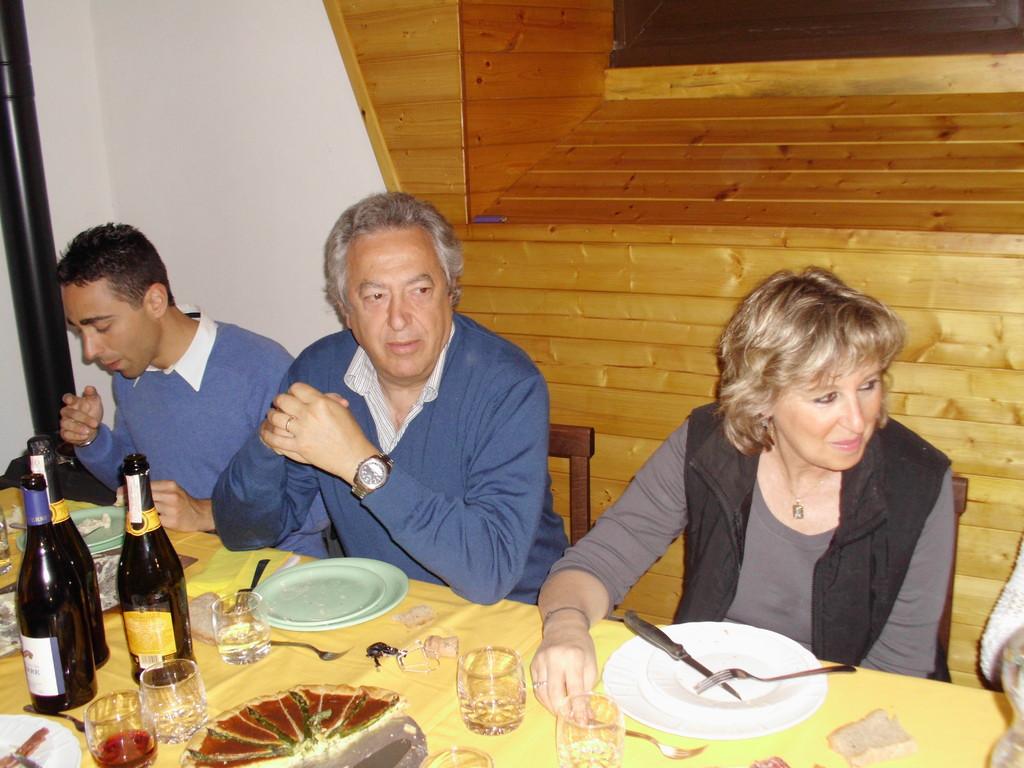 Flavia, Gabrio e Andrea