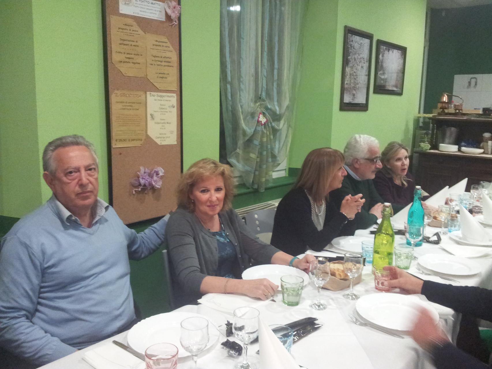 GABRIO, FLAVIA, GIUSI, GIORGIO, BARBARA