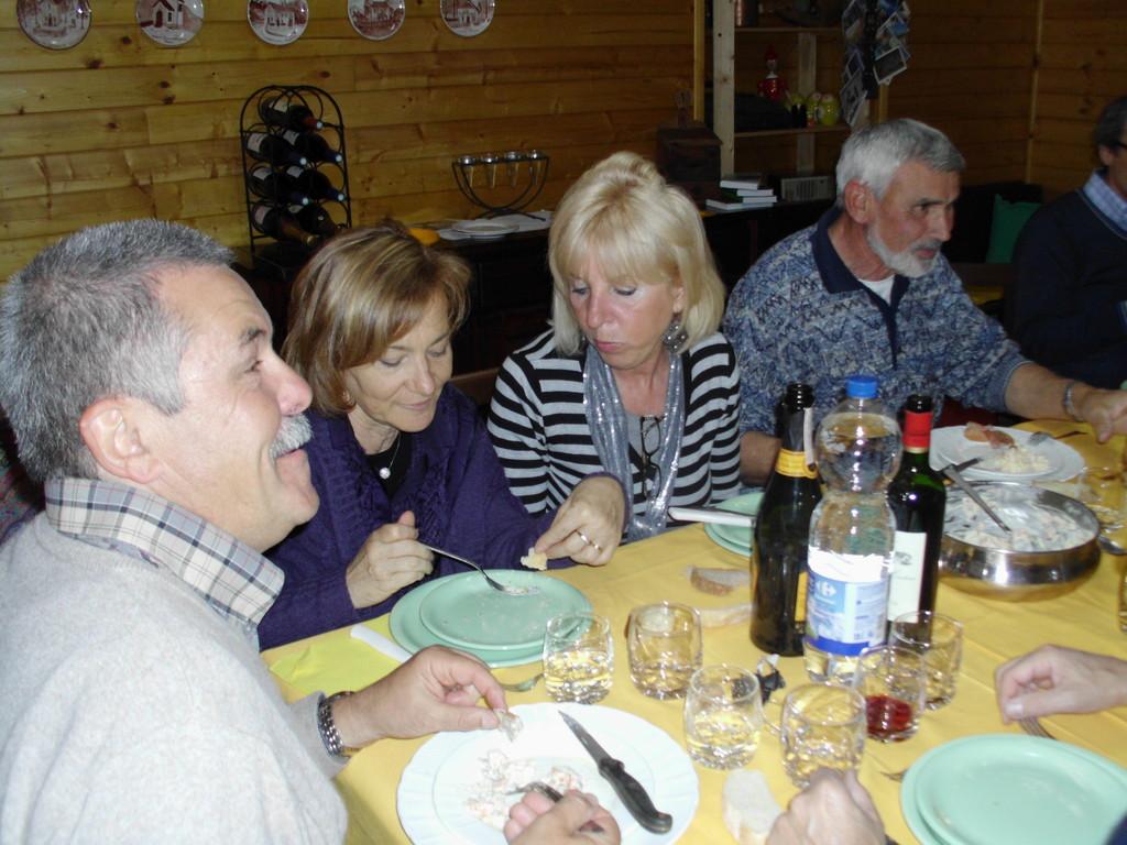 Gianpaolo, Elvadia, Gabriella e Giuseppe