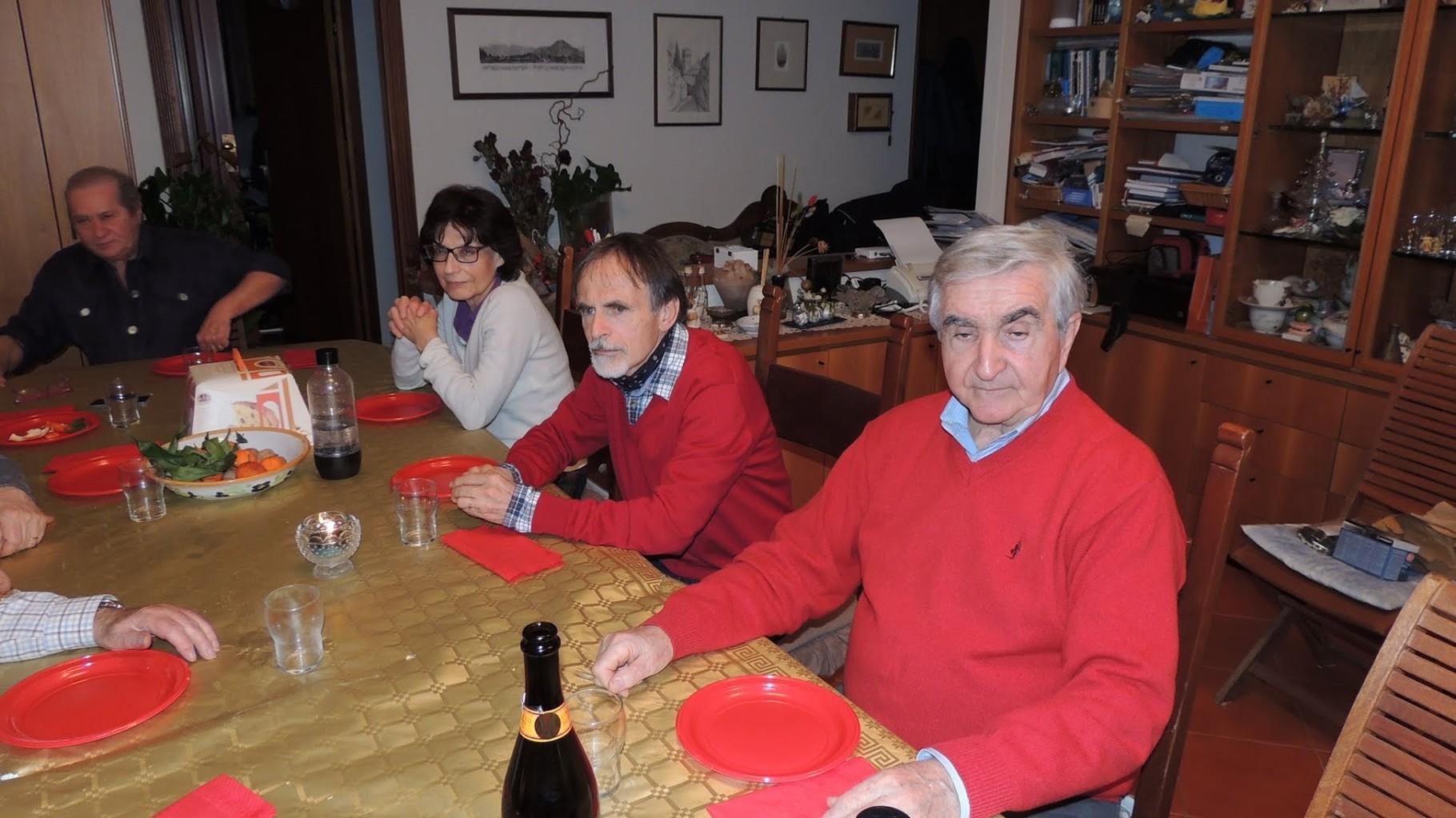 Flavia (moglie di Giorgio), Carla, Vittorio e Roberto