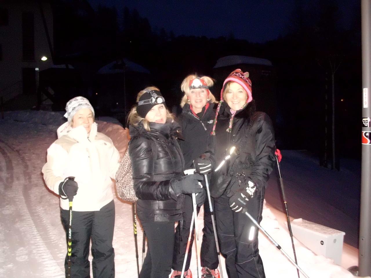 Giovanna, Barbara, Gabriella e Elvadia