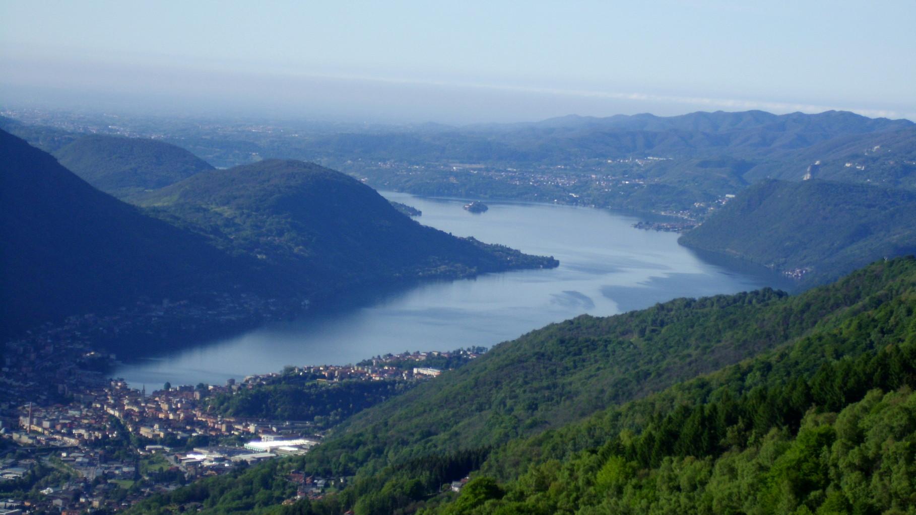 Omegna e il lago D'Orta