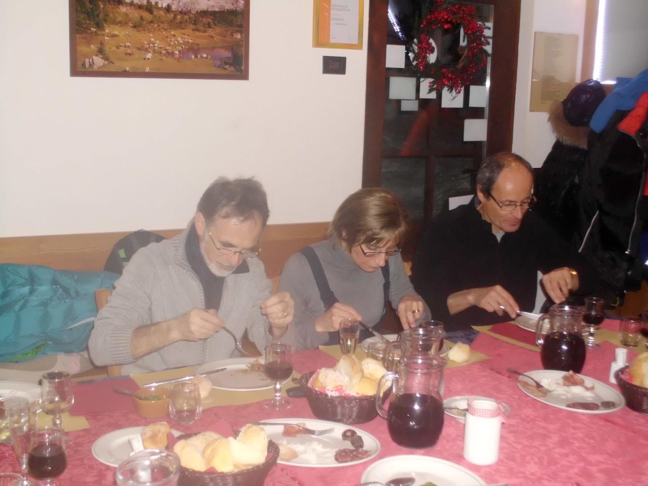 Vittorio, Carla e Armando