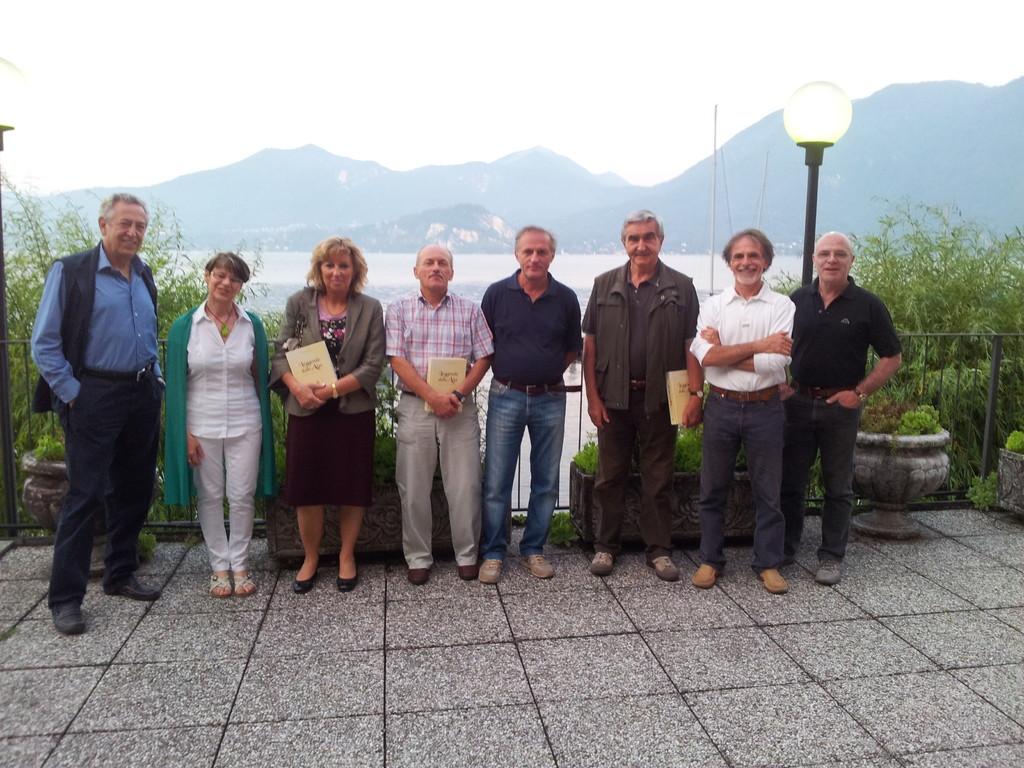 Gabrio, Paola, Flavia, Paolo, Sandro, Roberto, Vittorio e Ferruccio