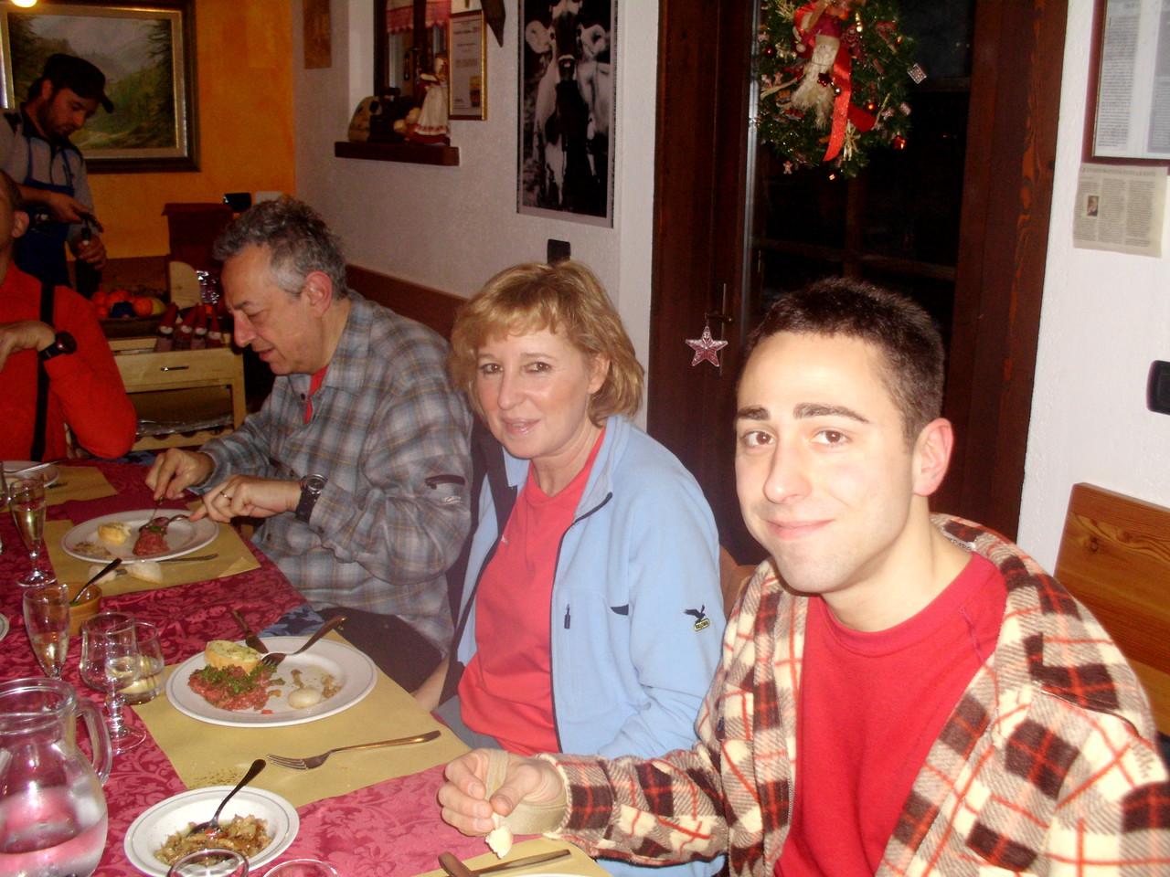 Gabrio, Flavia e Andrea
