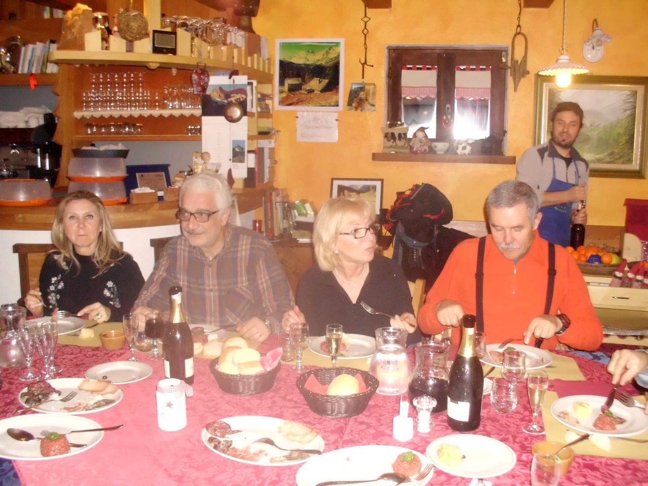 Barbara, Giorgio, Gabriella e Gianpaolo