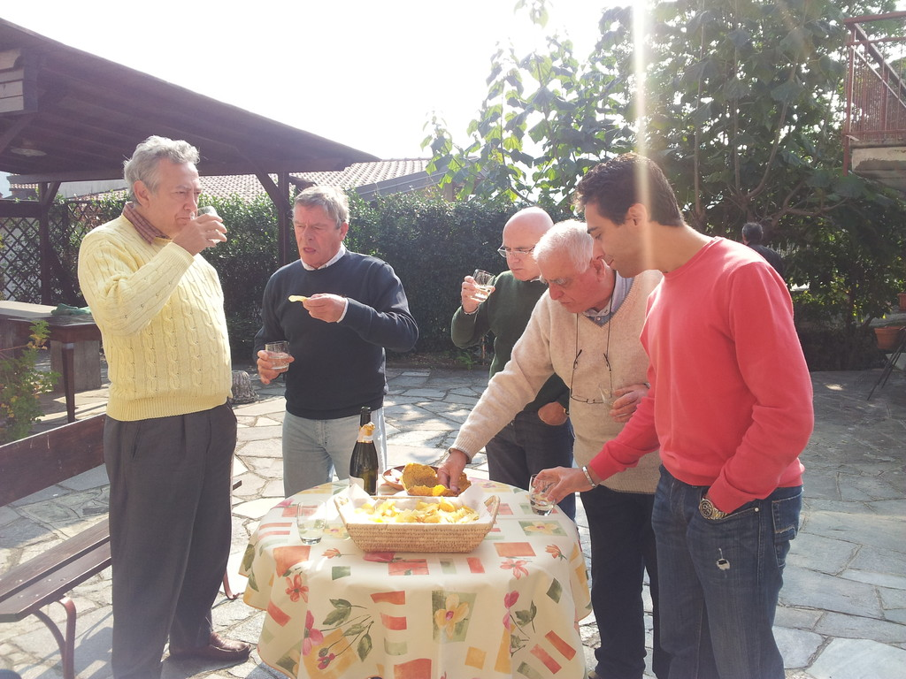 Gabrio, Giorgio, Ferruccio, Gianni Pizzorni e Andrea