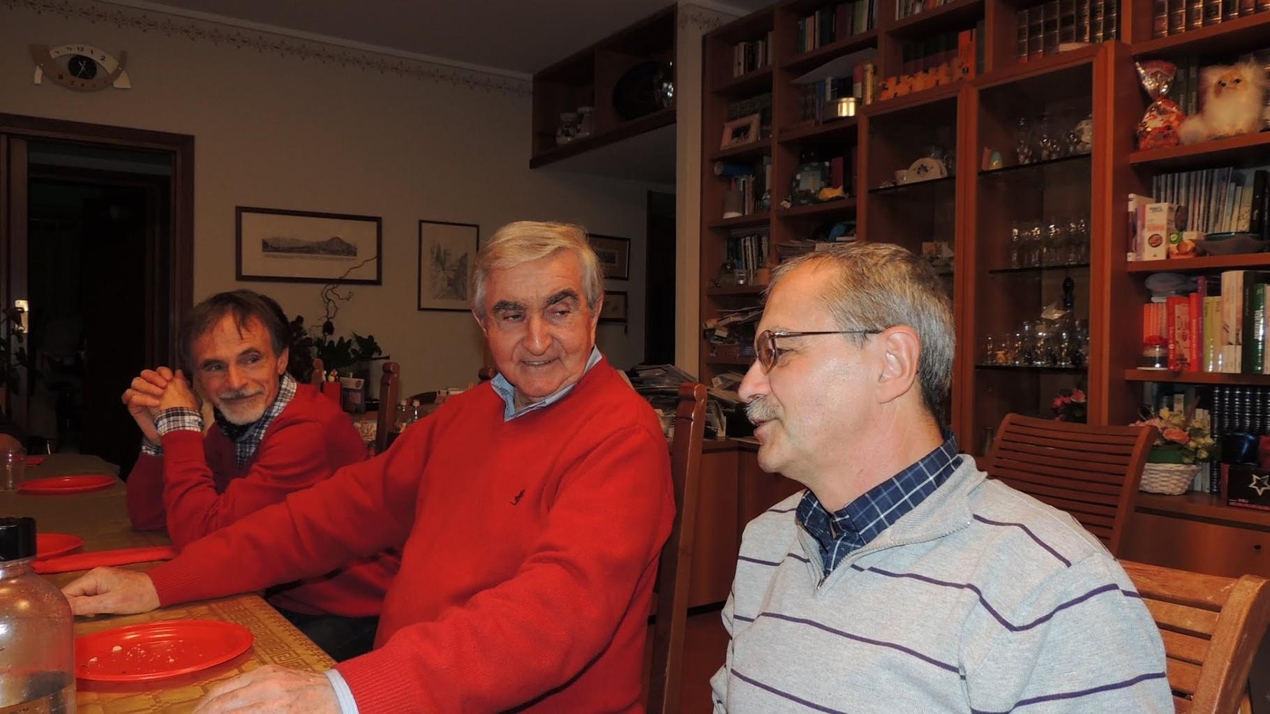 Vittorio, Roberto e Gianni baffo (che stà cantando con la sua splendida voce) hehehehe