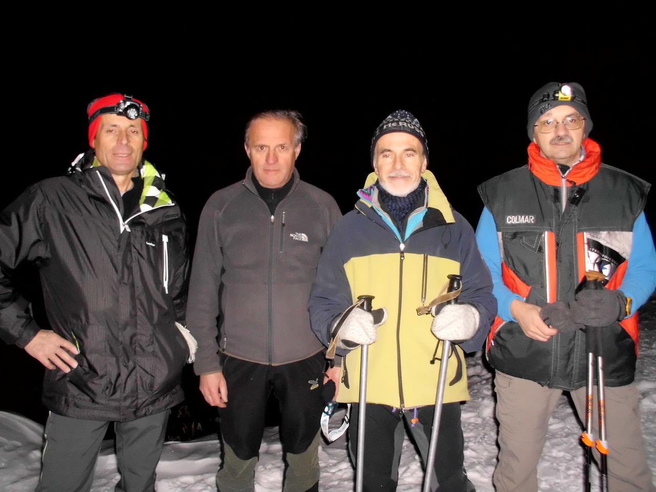 Armando, Sandro, Vittorio e Gianni baffo