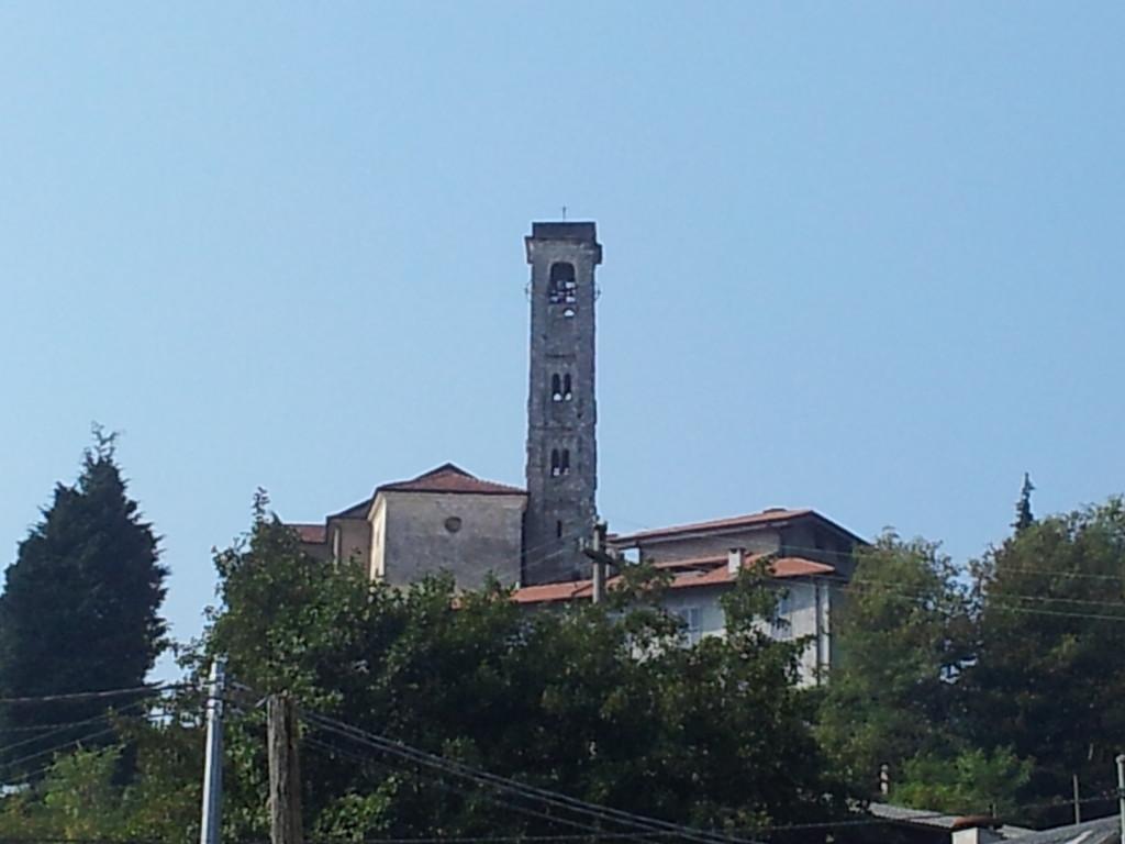 Il campanile di Ghevio