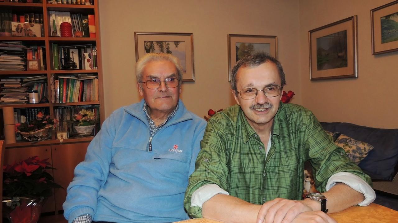 Sergio e Gianni baffo