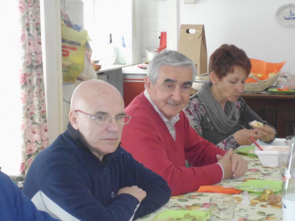 Ferruccio, Roberto e Mara