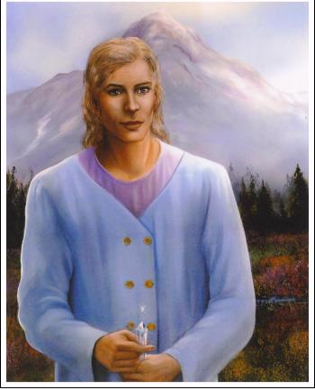 シャスタ山レムリア地下都市テロスの最高神官 アダマ