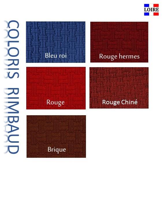 Coloris pep's écharpe Rimbaud