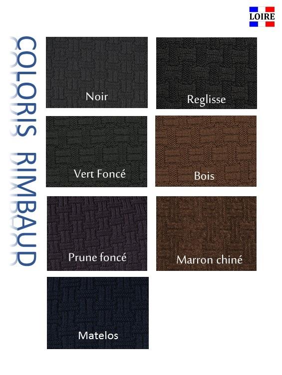 coloris foncé écharpe Rimbaud