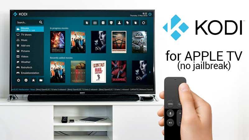 Kodi Voor Apple Tv 4K Zonder Jailbreak