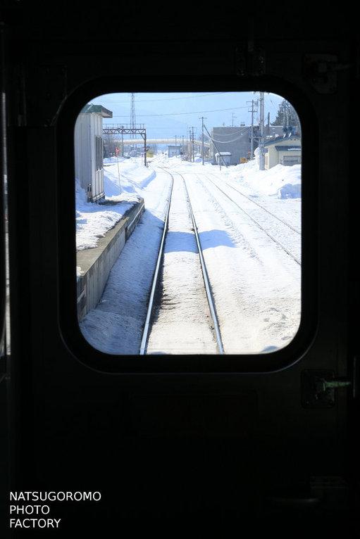 北海道、富良野駅 Furano station in Hokkaido