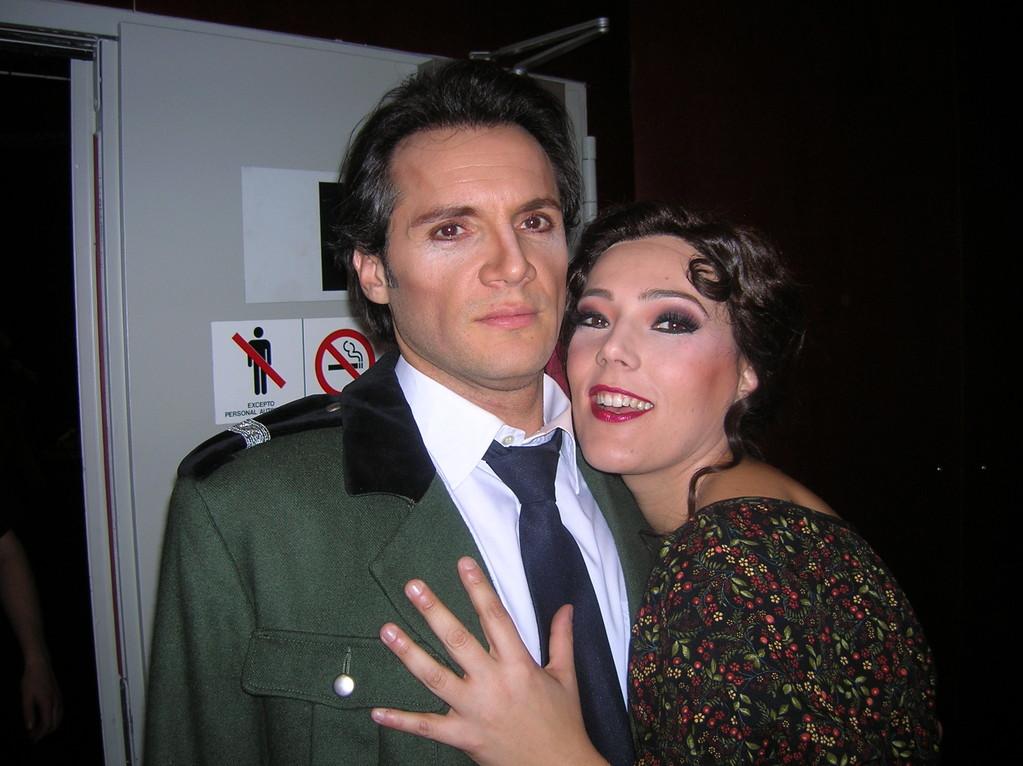 Con Nicolas Testé