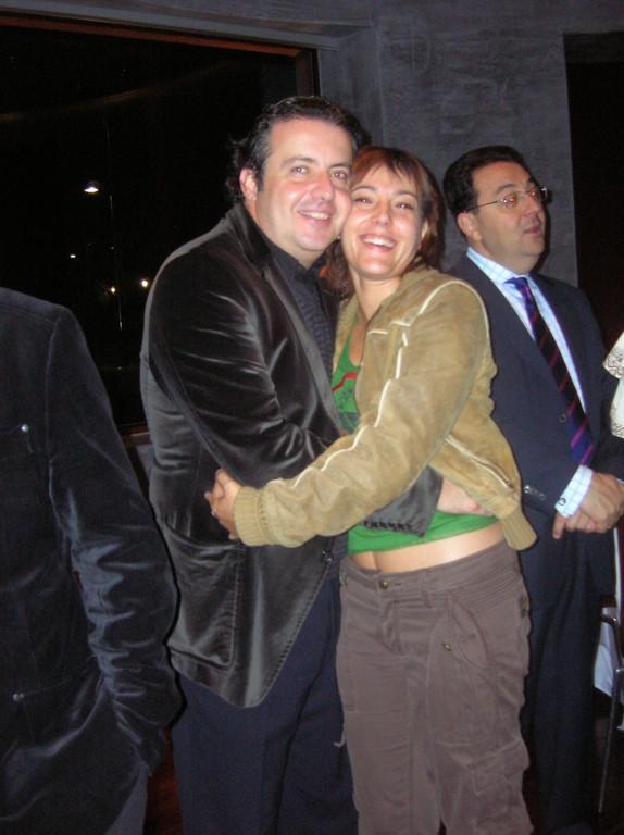 Con Juanjo Mena