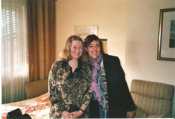 Con Helga Müeller-Mollinari