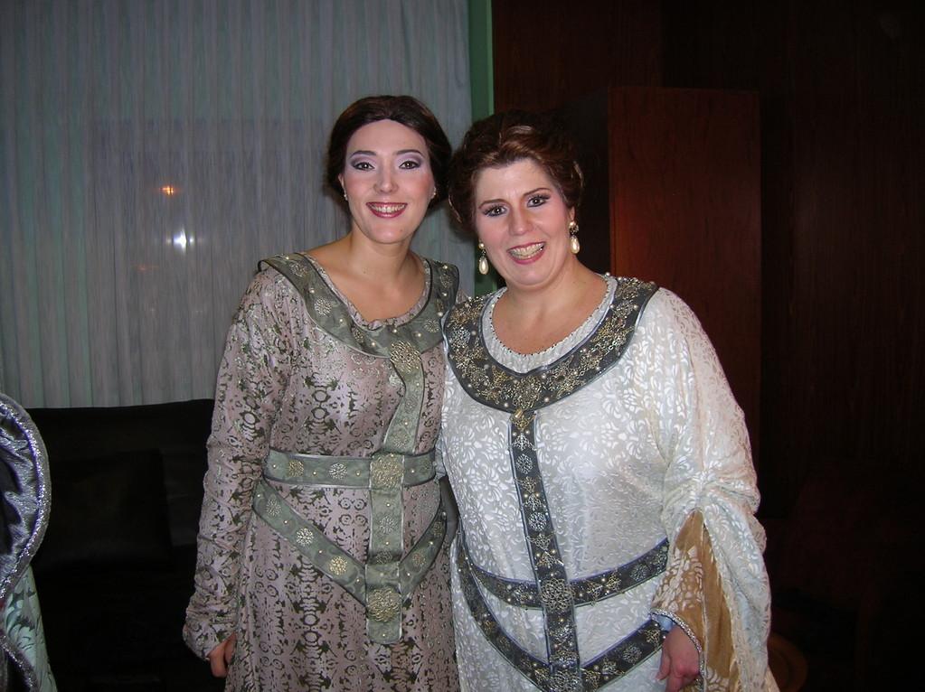 Con Marianne Cornetti