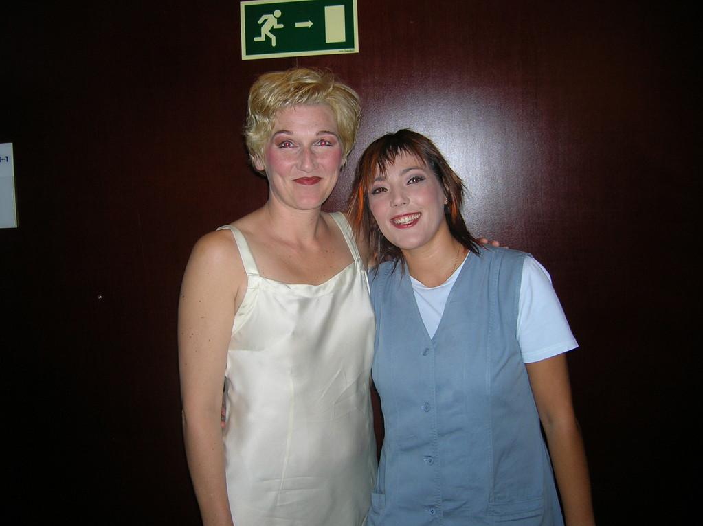 Con Angela Denoke