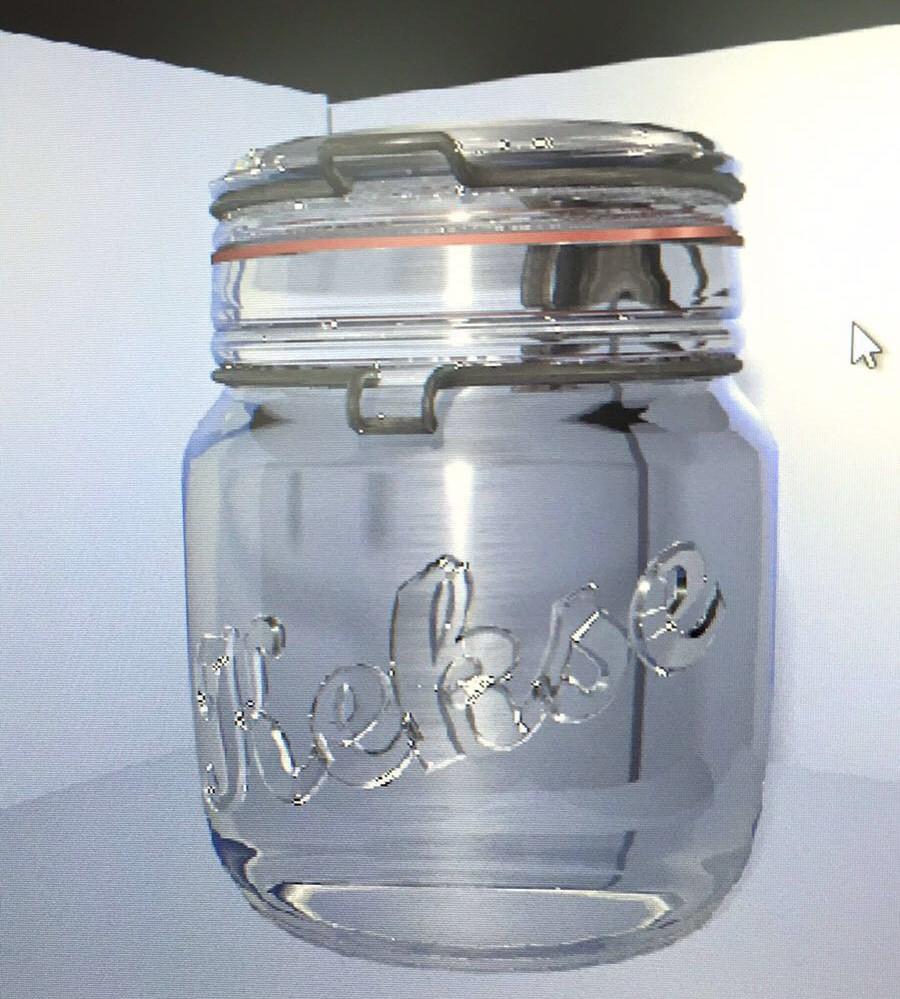 1. Render Einmachglas
