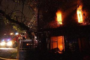 """incendie mortel, AURILLAC(15) Crédit photo: """"La Montagne"""""""