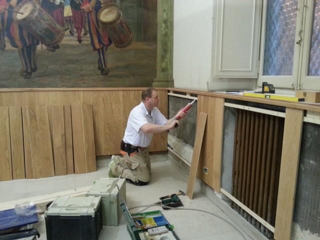Gästekantine der Schweizergarde in Rom, Renovation
